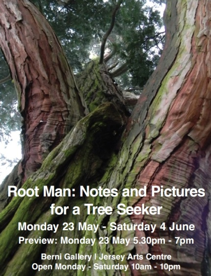 Root Man, Exhibition at Jersey Arts Center