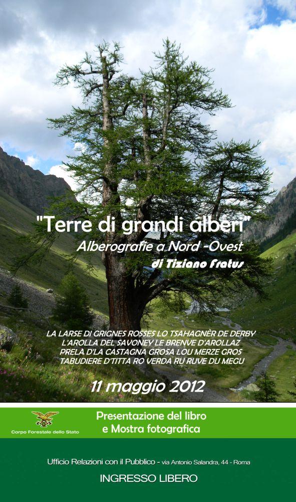 Roma, Sede centrale del Corpo Forestale dello Stato - 11 maggio 2012, incontro con Tiziano Fratus