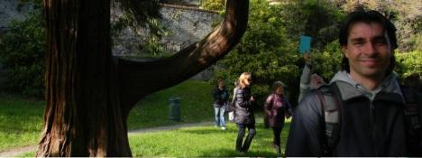 Passeggiata per cercatori di alberi nel parco di villa Negrotto Cambiaso ad Arenzano