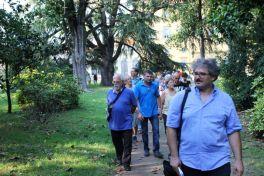 Villa Annoni a Cuggiono (MI) - Passeggiata per cercatori di alberi, spostamenti