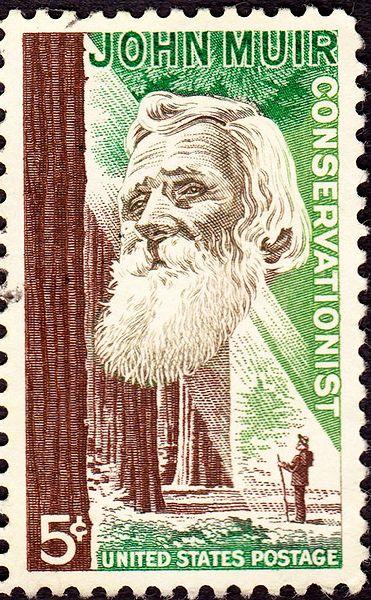 John Muir Stamp