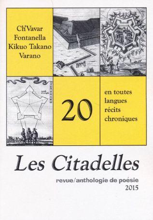 Due poesie di Tiziano Fratus sulla rivista parigina «LesCitadelles»