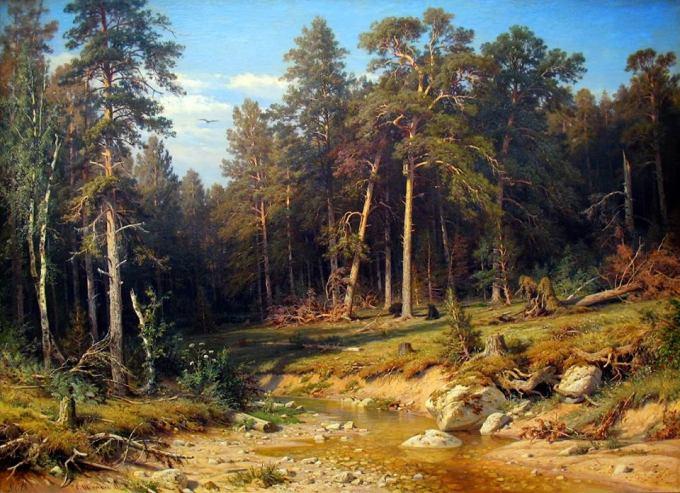 Ivan_Shishkin_Pine_Forest_1872