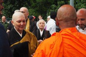 La comunità dei buddisti: la monaca Elena Seishin Viviani.