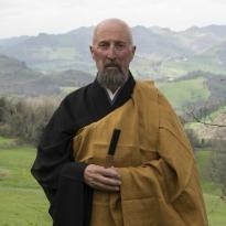 Il monaco Erto Taigō Fumagalli.